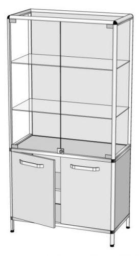 Шкаф-витрина В-2
