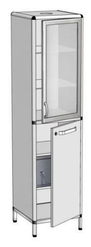 Шкаф для хранения реактивов с сейфом ШЗР-1