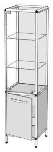 Шкаф-витрина В-1