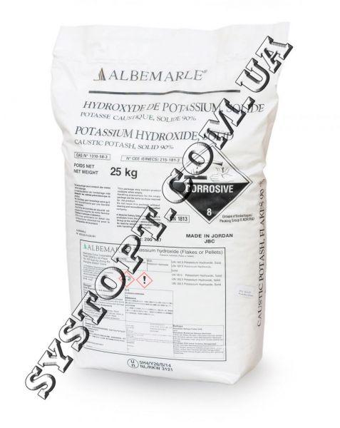 Гідроксид калію (їдкий калій)
