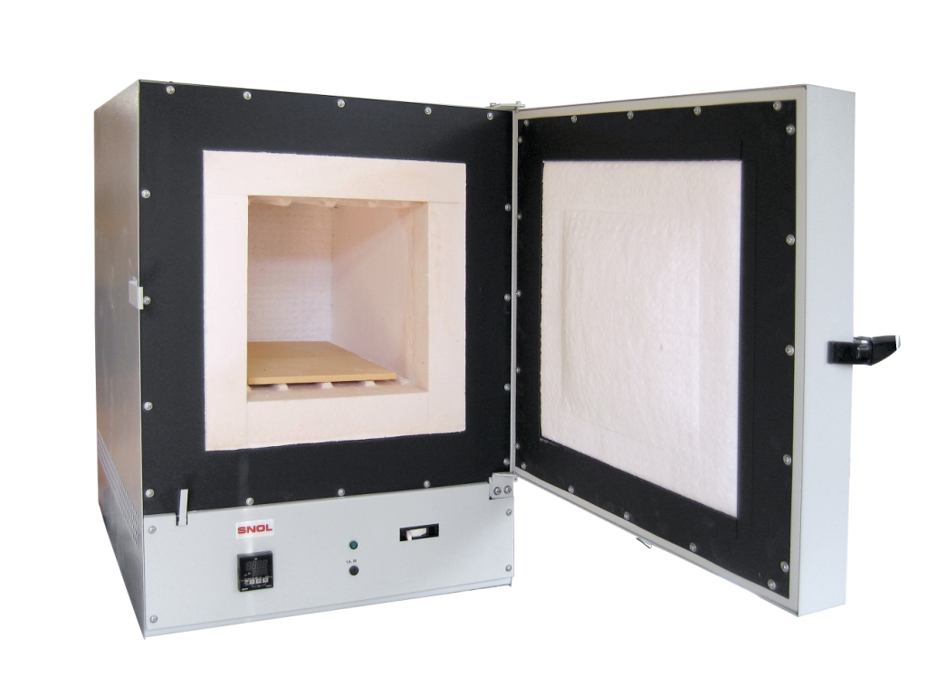 Муфельні камерні печі L - нагрівачі впресовані у волокно