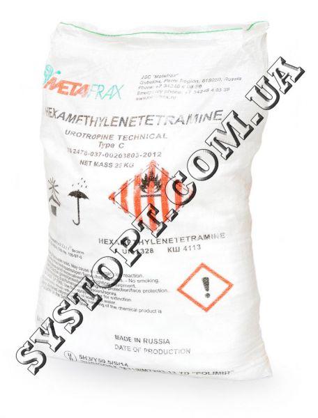 Уротропін (гексаметилентетрамін)