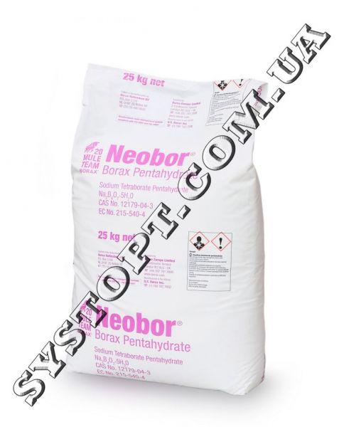 Бура (тетраборат натрію, натрій тетраборнокислий ) 5-водна