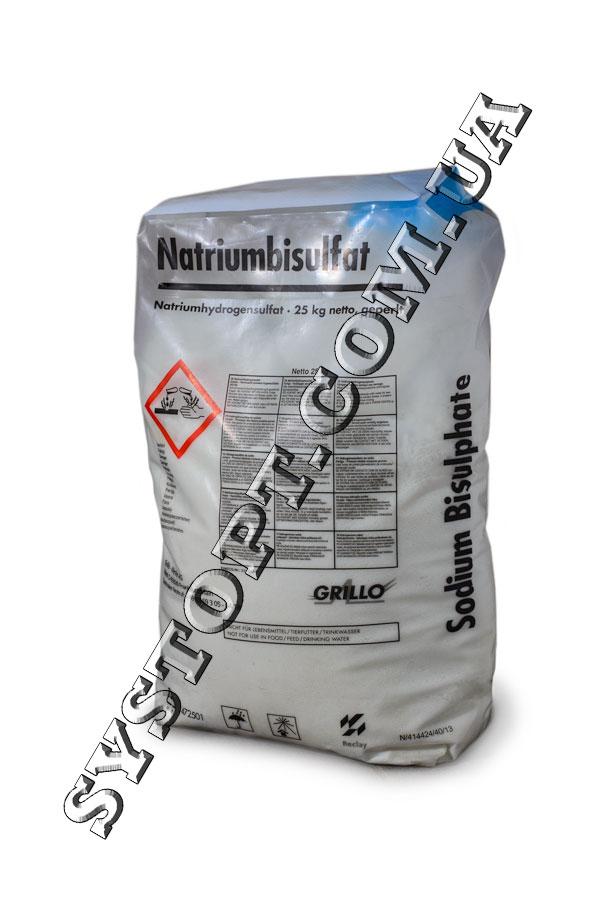 Бісульфат натрію (натрій сірчанокислий кислий)