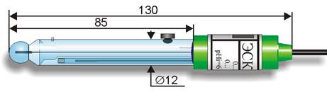 Комбіновані рН-електроди серії ЕСК-1