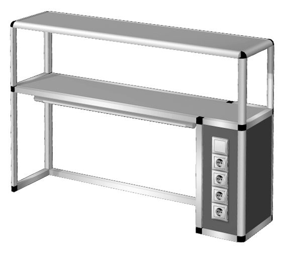 Надставка на стол  НС-2