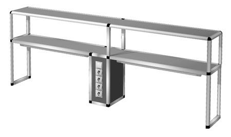 Надставка на стол  НС-3