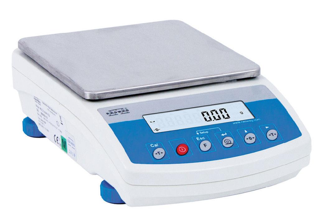 Весы электронные лабораторные RADWAG серии WLC.../C/2