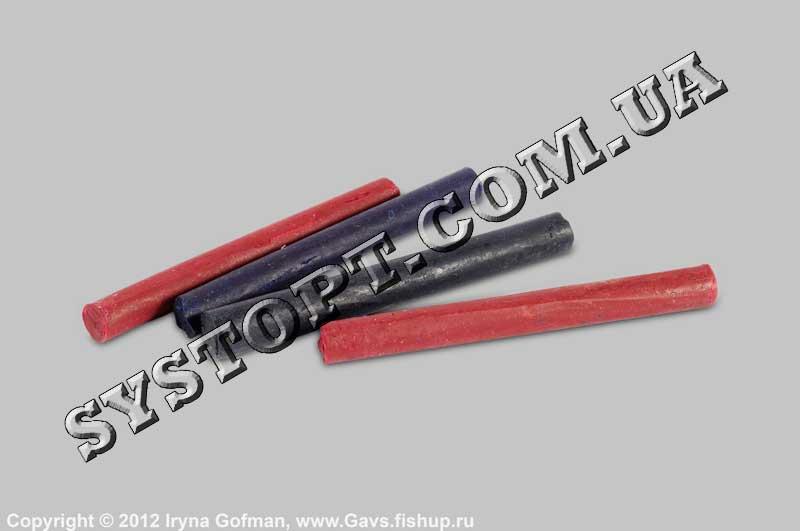 Олівці по склу (червоні, сині)