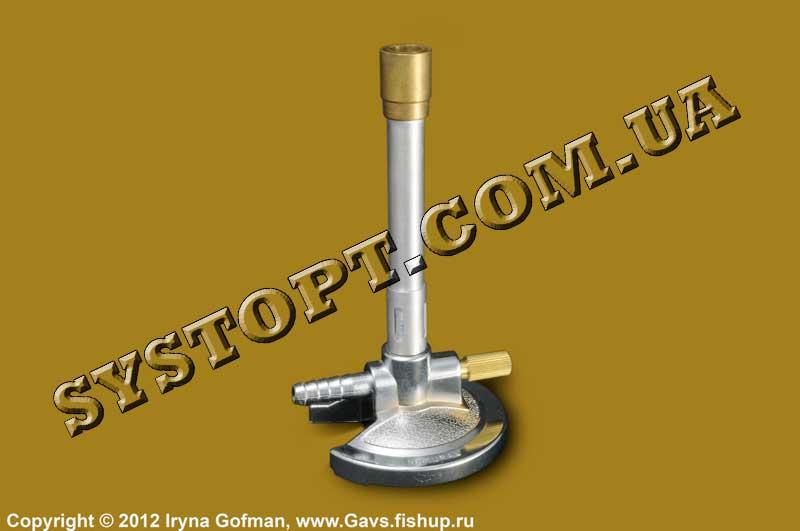 Пальник газовий Бунзена (для нагрівання і прожарювання)