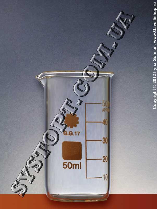 Стаканы лабораторные высокие с носиком и градуировкой ТС