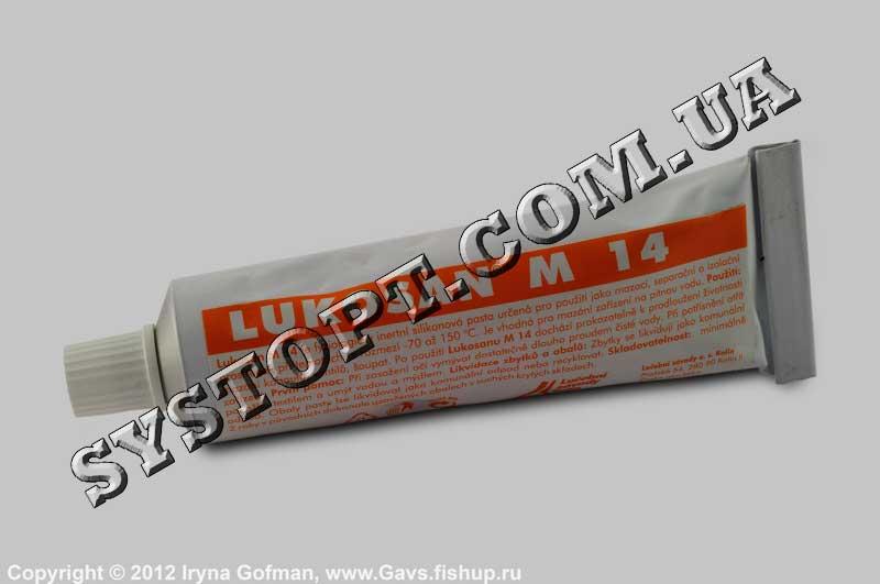 Змазка для шліфів силіконова Lukosan, 70 г