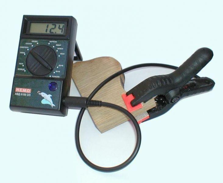 Влагомер для древесины АВД 6100