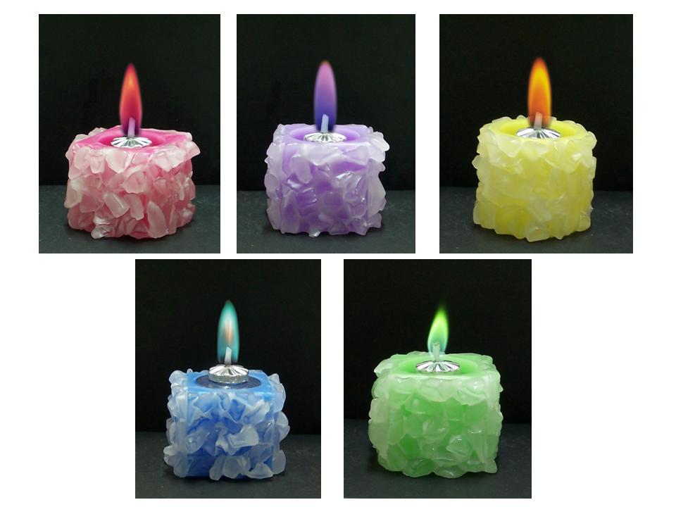 Как делают свечи