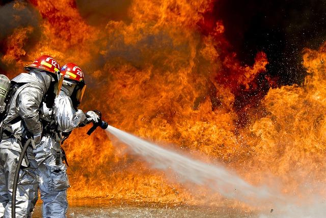 Хладони для гасіння пожежі