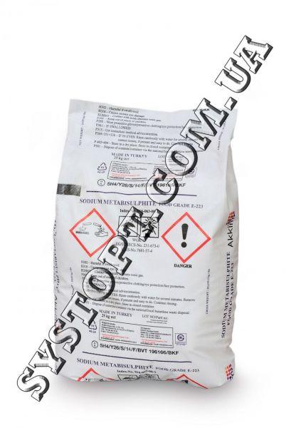 Метабісульфіт натрію в харчовій промисловості