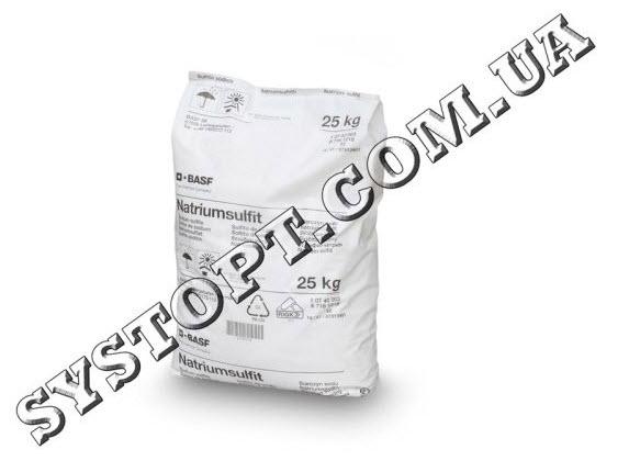 Сульфит натрия – консервант, отбеливатель, антиоксидант