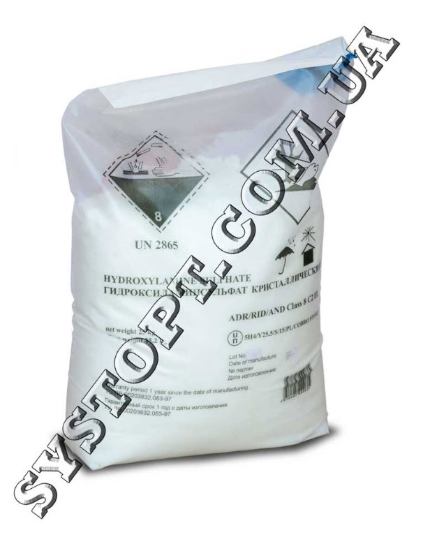 Гидроксиламин сульфат для химической промышленности