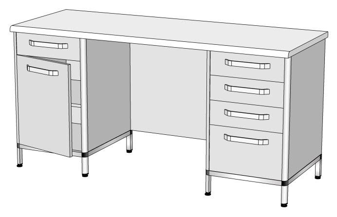 Стіл лабораторний: опис та призначення