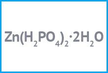 Цинк фосфорнокислый однозамещенный: применение и свойства